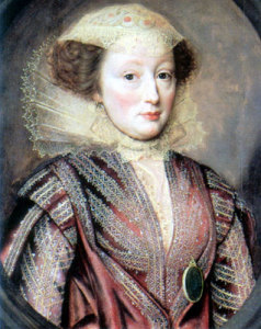 Elizabeth Vernon, 1618 (image source: Wikimedia Commons)