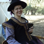 My 16th-c. doublet, photo from Sarah