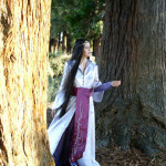 Trystan as Arwen in the Rivendell outfit