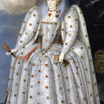 1592, Queen Elizabeth I - 'The Ditchley Portrait' by Marcus Gheeraerts the Younger