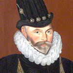 1591, Admiral Sir John Hawkins by Hieronimo Custodis. Image source: Wikimedia Commons