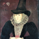 1595, Esther Inglis, Mrs Kello. Image source: Wikimedia Commons