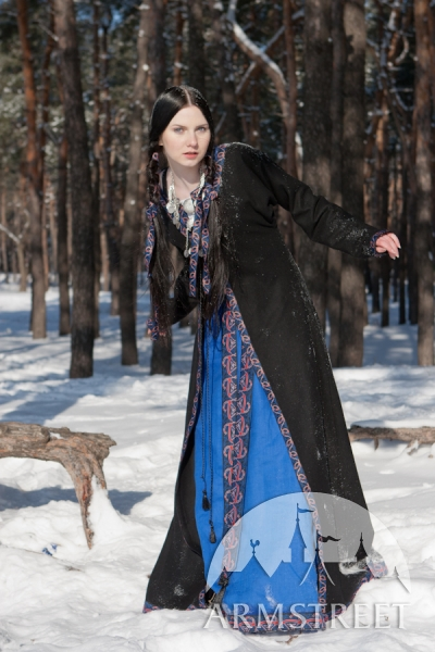 New Knyazhna Helga Overcoat, Dress, & Chemise set from ArmStreet.com