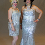 Sarah & Trystan in sequins. Photo by Andrew Schmidt