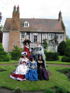 The ladies at Blo Norton, a 16th-c. English manor house